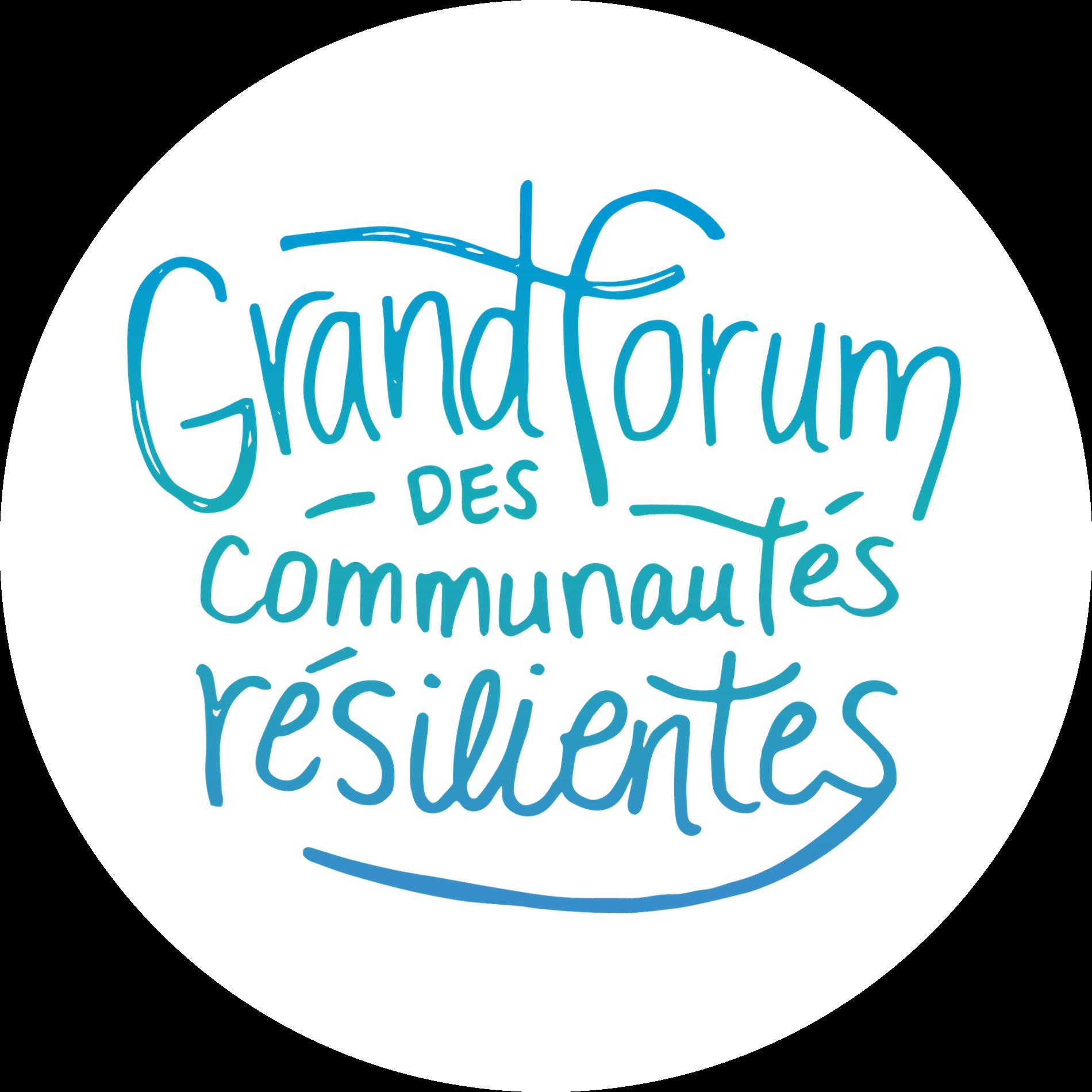 Grand forum des communautés résilientes